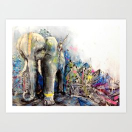 Maximus  Art Print