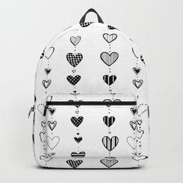 Heart garlans Backpack