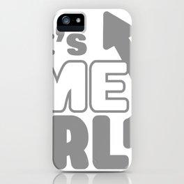 It's Me IRL iPhone Case