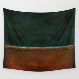 1953 Green and Maroon HD Wall Tapestry