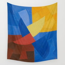 Otto Freundlich Komposition (Ca. 1932) Kunstmuseum Basel Colorful Geometric Art Wall Tapestry