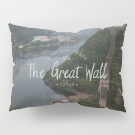 A different view of The Great Wall of China Pillow Sham