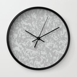 Zinc Plate Background Wall Clock