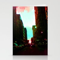detroit Stationery Cards featuring Detroit by Casalmon