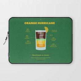 Orange Hurricane - Cocktail by Juan Laptop Sleeve