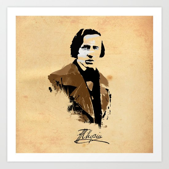 Frederic Chopin - Polish Composer, Pianist Art Print