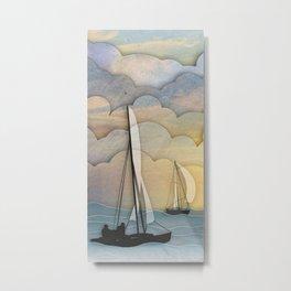 Sailing I Metal Print