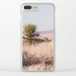 West Texas Vista Clear iPhone Case