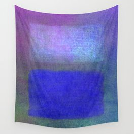 After Rothko Blue Wall Tapestry