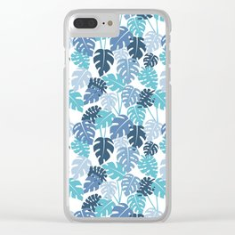 Monstera Vibe Clear iPhone Case