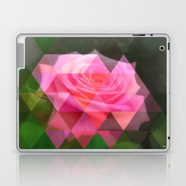 Pink Roses in Anzures 4 Art Triangles 1 Laptop & iPad Skin