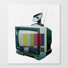 Tune In... Canvas Print