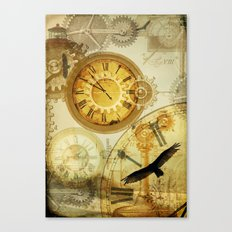 Time Keeps on Slipping.... Canvas Print