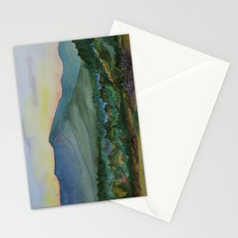 Mt. Mansfield at Dusk Stationery Cards