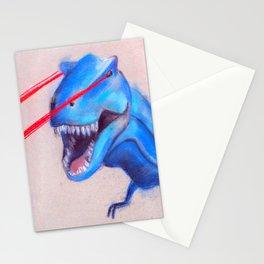 Laser Dino Stationery Cards