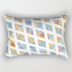 Watercolor Diamonds Rectangular Pillow