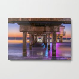 Set the Controls for the Heart of the Pier Metal Print