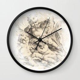 Cherub Dreams No.002 Wall Clock
