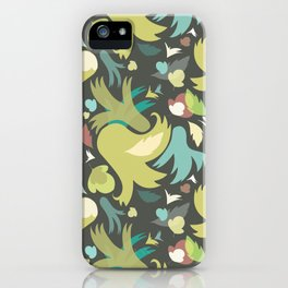 The powerful an green spring is coming iPhone Case