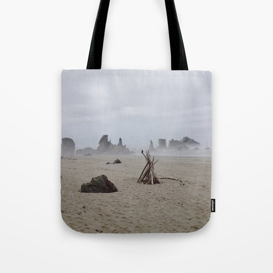 Bandon Beach Bird Tote Bag
