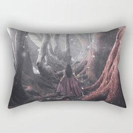 Finding a way Rectangular Pillow