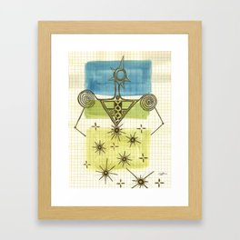 Woman_1 Framed Art Print