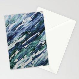 Blue Smear Stationery Cards