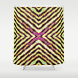 Repeater Shower Curtain
