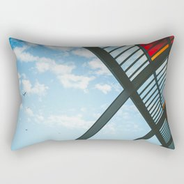 Amsterdam Centraal Train Station Rectangular Pillow