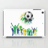 world cup iPad Cases featuring World Cup Fever by Robin Curtiss
