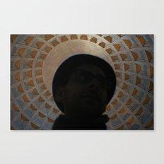 Pantheon Hat Canvas Print