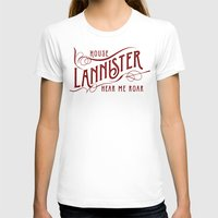 lannister T-shirts featuring House Lannister Typography by P3RF3KT