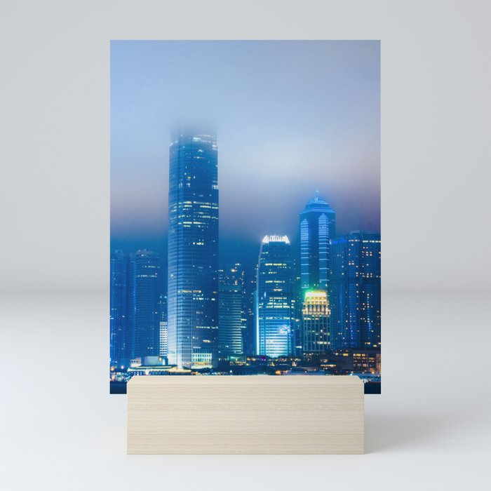 Hong Kong Fog Mini Art Print