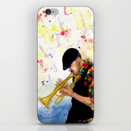 The Colors of Jazz iPhone Skin