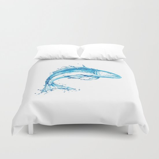Fish in Water, Made from Water Duvet Cover