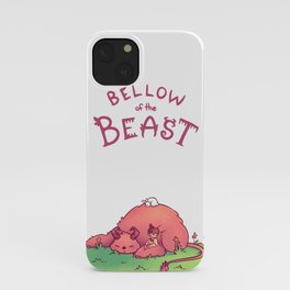 Sleeping Beast iPhone Case