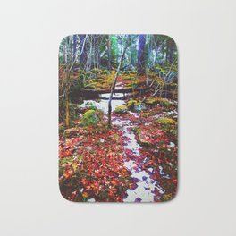 A Path in a Forest Bath Mat
