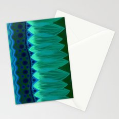 Blue Lotus Petals Stationery Cards