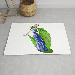 Colorful Dress #57 Rug