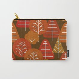 Autumn Scandi Forest Carry-All Pouch