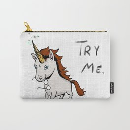 Try Me Unicorn Carry-All Pouch