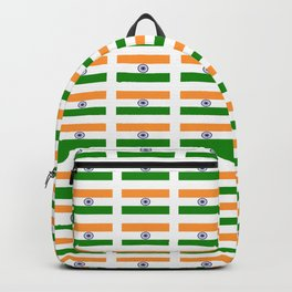 Flag of India 2-indian,mumbai,delhi,hindi,indus,buddhism,hinduism,buddha,gandhi Backpack