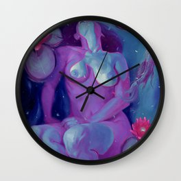 Sadie's Underwater Dream Wall Clock
