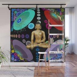 Pop Buddha Wall Mural