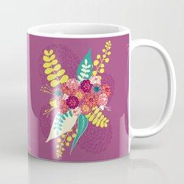 Violet flower bunch Coffee Mug