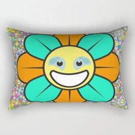 SUPER FLOWER POWER Rectangular Pillow