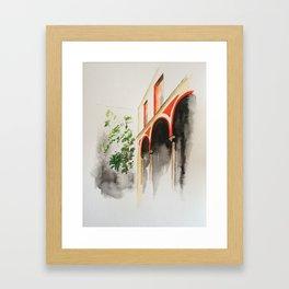 Dama Juana. Jerez de la Frontera Framed Art Print