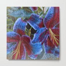 Wild Lilies Metal Print