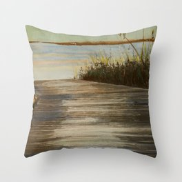 """""""On The Right Path""""  Throw Pillow"""