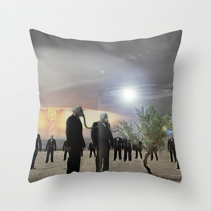 Enjoy it while you can.... Throw Pillow